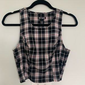 Vintage Plaid Hot Topic Top